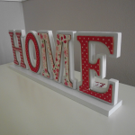 Shabby Chic Home Sign