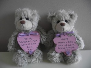 Personalised Mothers Day Teddy Bear