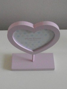Baby Heart Photo Frame