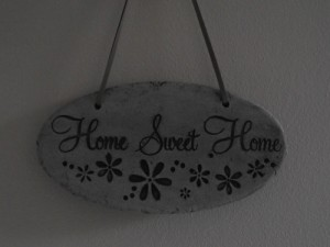 Hanging Garden Home Sweet Home Sign
