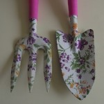Ladies Floral Garden Tool Set