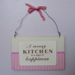 Hanging Kitchen Wall Sign