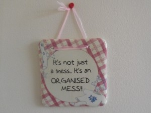Novelty Hanging Sign