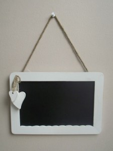 Shabby Chic Blackboard