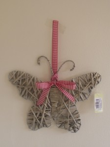 Shabby Chic Willow Butterfly
