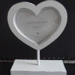 Shabby Chic Heart Photo Frame