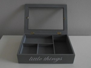 Wooden Jewellery Storage Box